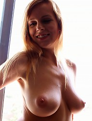 Funny and naughty amateur Carmen with breath...